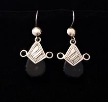 Fair Trade Silver Tuareg Earrings from Mali