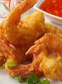 Awesome fried shrimp cooked to perfection.