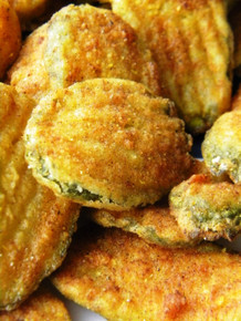 Deep Fried Pickle Chips
