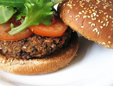 *VEGETARIAN FAVORITE* Black Bean Veggie Burger Kit