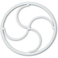 "GWS 1.0"" (25 mm, 0.50 g) Ultra Light Shock Wheels (1 Pair/Pack)"