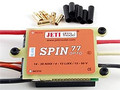 Jeti SPIN 77 Amp Opto Brushless Speed Control