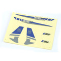 Decal Sheet, Blue/Silver Graphics: BMCX