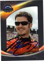 MARTIN TRUEX JR AUTOGRAPHED NASCAR CARD #100111B