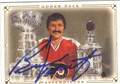 BERNIE PARENT PHILADELPHIA FLYERS AUTOGRAPHED HOCKEY CARD #100113A
