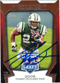 SHONN GREENE AUTOGRAPHED FOOTBALL CARD #100212E