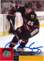 CAM BARKER AUTOGRAPHED HOCKEY CARD #100212P
