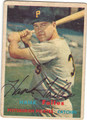 HANK FOILES PITTSBURGH PIRATES AUTOGRAPHED VINTAGE BASEBALL CARD #100213K