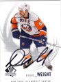 DOUG WEIGHT AUTOGRAPHED HOCKEY CARD #100312F