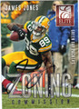 JAMES JONES GREEN BAY PACKERS AUTOGRAPHED FOOTBALL CARD #100313C