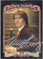 MIKE BOSSY AUTOGRAPHED HOCKEY CARD #100412E
