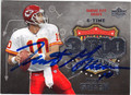 TRENT GREEN KANSAS CITY CHIEFS AUTOGRAPHED FOOTBALL CARD #100313D