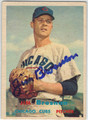 JIM BROSNAN CHICAGO CUBS AUTOGRAPHED VINTAGE BASEBALL CARD #100413F