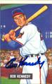 Bob Kennedy Autographed Baseball Card #100510P