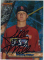 SHELBY MILLER AUTOGRAPHED ROOKIE BASEBALL CARD #100612L