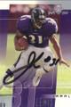 Jamal Lewis Autographed Football Card #100710R