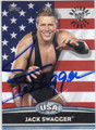 JACK SWAGGER AUTOGRAPHED WRESTLING CARD #100712E