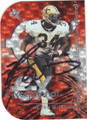 RICKY WILLIAMS NEW ORLEANS SAINTS AUTOGRAPHED FOOTBALL CARD #100613L
