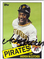 ANDREW McCUTCHEN PITTSBURGH PIRATES AUTOGRAPHED BASEBALL CARD #100713C