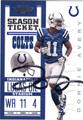 DONNIE AVERY INDIANAPOLIS COLTS AUTOGRAPHED FOOTBALL CARD #100713E