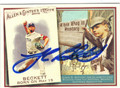 JOSH BECKETT BOSTON RED SOX AUTOGRAPHED BASEBALL CARD #100813D