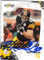 HEATH MILLER PITTSBURGH STEELERS AUTOGRAPHED FOOTBALL CARD #100813E