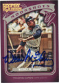 WILLIE McCOVEY SAN FRANCISCO GIANTS AUTOGRAPHED BASEBALL CARD #100813F