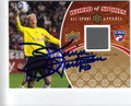 KEVIN HARTMAN AUTOGRAPHED PIECE OF THE GAME SOCCER CARD #100912B