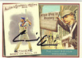 ANDRE ETHIER LOS ANGELES DODGERS AUTOGRAPHED BASEBALL CARD #100713F