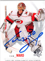 CAM WARD AUTOGRAPHED HOCKEY CARD #100912E
