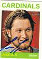 LANCE LYNN ST LOUIS CARDINALS AUTOGRAPHED BASEBALL CARD #100813K