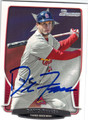 DAVID FREESE ST LOUIS CARDINALS AUTOGRAPHED BASEBALL CARD #101013H