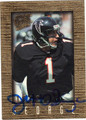JEFF GEORGE ATLANTA FALCONS AUTOGRAPHED FOOTBALL CARD #100913K