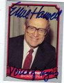 ERNIE HARWELL AUTOGRAPHED CARD #10114K
