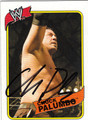 CHUCK PALUMBO AUTOGRAPHED WRESTLING CARD #101111A