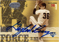 GAYLORD PERRY SAN DIEGO PADRES AUTOGRAPHED & NUMBERED BASEBALL CARD #101012J
