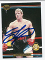 TOMMY MORRISON AUTOGRAPHED BOXING CARD #101310J