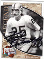 FRED BILETNIKOFF OAKLAND RAIDERS AUTOGRAPHED FOOTBALL CARD #101313E