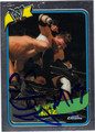 THE MIZ AUTOGRAPHED WRESTLING CARD #101411M