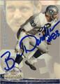 BEN DAVIDSON AUTOGRAPHED FOOTBALL CARD #101511M