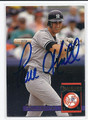 PAUL O'NEILL AUTOGRAPHED BASEBALL CARD #101610E