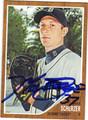 MAX SCHERZER DETROIT TIGERS AUTOGRAPHED BASEBALL CARD #101513J