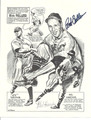 BOB FELLER & MEL HARDER DOUBLE AUTOGRAPHED PRINT#101610PIC2