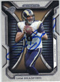 SAM BRADFORD ST LOUIS RAMS AUTOGRAPHED FOOTBALL CARD #101613H