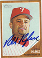 PLACIDO POLANCO AUTOGRAPHED BASEBALL CARD #101711A