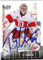 TY CONKLIN AUTOGRAPHED HOCKEY CARD #101811D