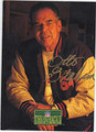 OTTO GRAHAM CLEVELAND BROWNS AUTOGRAPHED FOOTBALL CARD #101813B