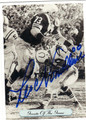 LEO NOMELLINI SAN FRANCISCO 49ers AUTOGRAPHED FOOTBALL CARD #101813F