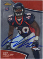 VON MILLER AUTOGRAPHED ROOKIE FOOTBALL CARD #101912i
