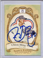 Chien-Ming Wang Autographed Baseball Card #102010F